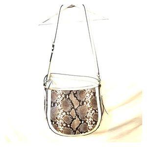 Michael Kors Snakeskin Print Bag Crossbody Strap